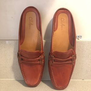 Cole Haan  Leather Slide Loafers